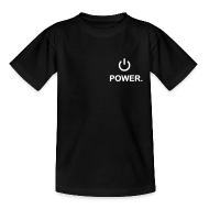 Tee shirts ~ Tee shirt Ado ~ Power - Blk Ed