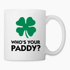 White Who's Your Paddy? 2 (2c) Mugs