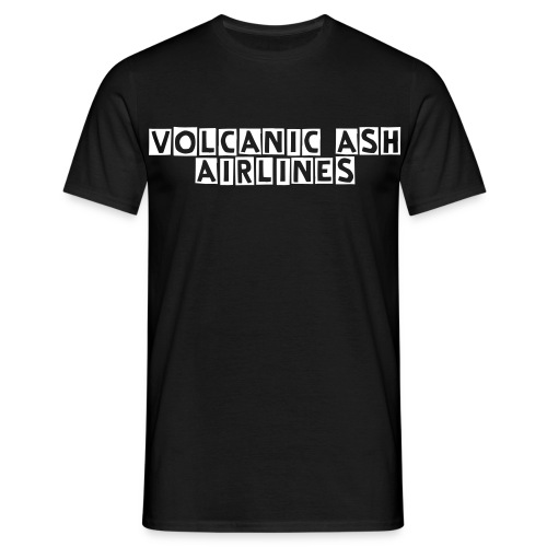 VOLCANIC ASH AIRLINES - Men's T-Shirt
