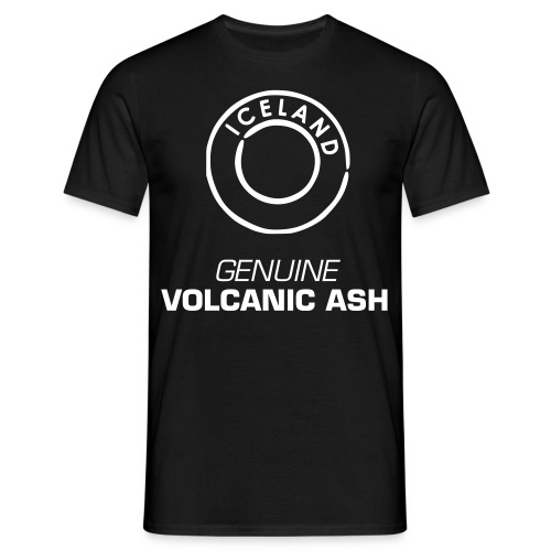 GENUINE VOLCANIC ASH - Men's T-Shirt
