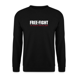 Free-Fight no victory without pain Sweatshirt - Männer Pullover