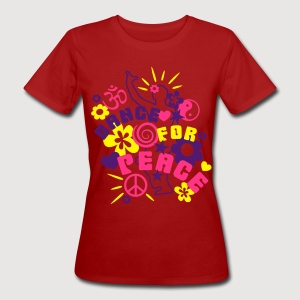 DANCE FOR PEACE - Frauen Bio-T-Shirt