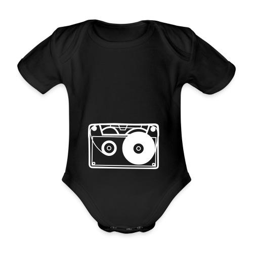 Baby-DJ - Organic Short-sleeved Baby Bodysuit