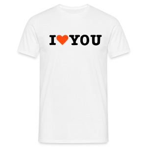 I love you! - Men's T-Shirt