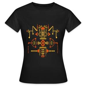 Symmetrisch figuur - Vrouwen T-shirt