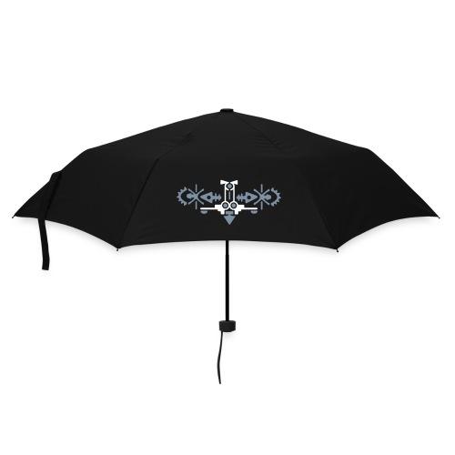 Paraplu met  Symmetrisch figuur: Vogel - Paraplu (klein)