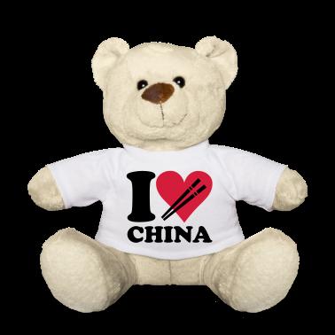 Blanc China - I love China Nounours