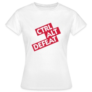CONTROL ALT DEFEAT GIRLS - Women's T-Shirt