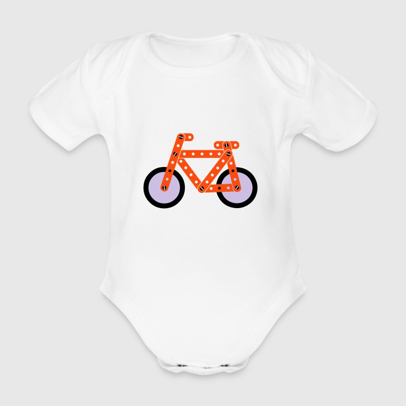 bike velo  Modell Baby Body - Body bébé bio manches courtes