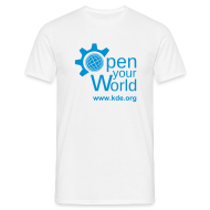 T-Shirts ~ Men's T-Shirt ~ Open Your World v2 - Mens Classic T-shirt