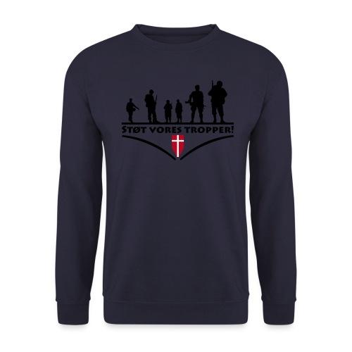 Støt Vore Tropper - Herre sweater