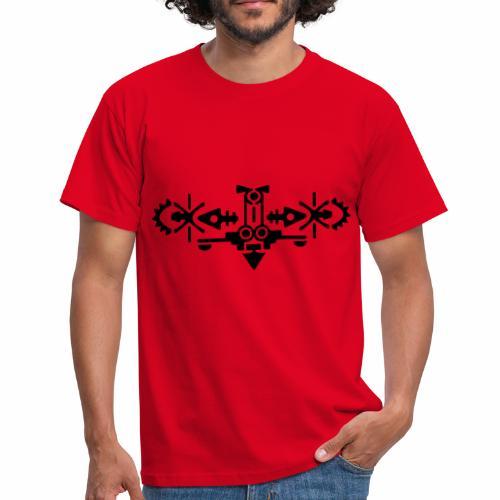 symetrisch figuur: vogel - Mannen T-shirt