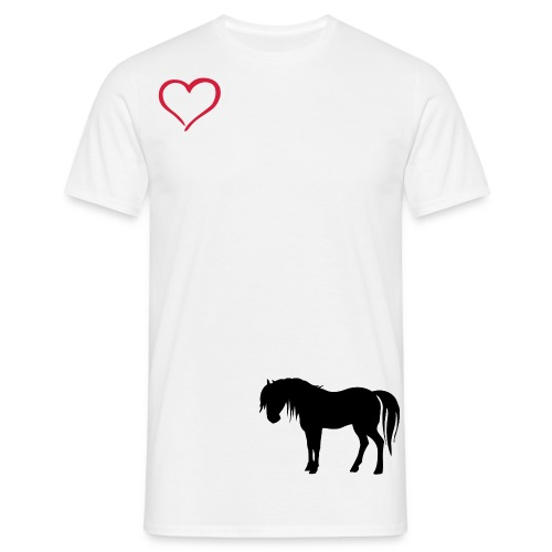 our hearts arnt full without them! - Men's T-Shirt