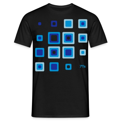 Future Retro BLUE from 7Ts - Men's T-Shirt