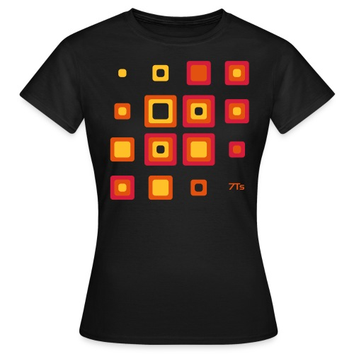 Future Retro RED from 7Ts - Women's T-Shirt