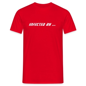 Infected by ... Hardstyle virus (rouge 3) - T-shirt Homme