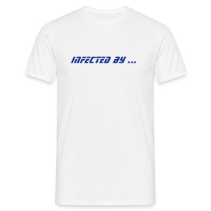 Infected by ... Hardstyle virus (blanc 2) - T-shirt Homme