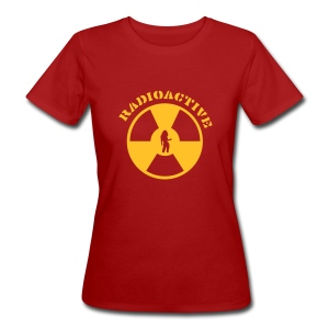 RADIOACTIVE GIRL - Women's Organic T-shirt