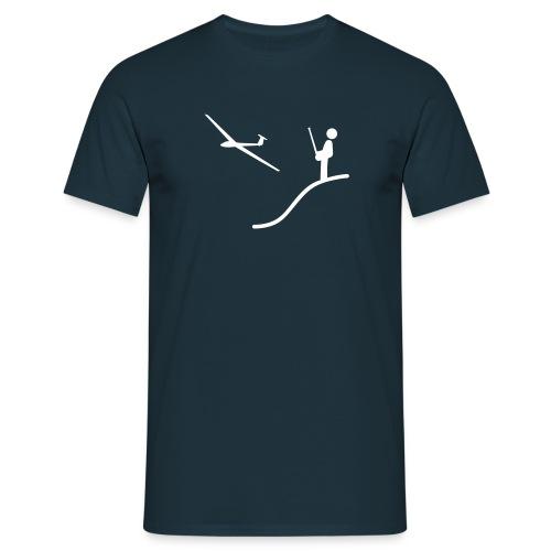 Modellflieger +Vereinslogo (Rücken) - Männer T-Shirt