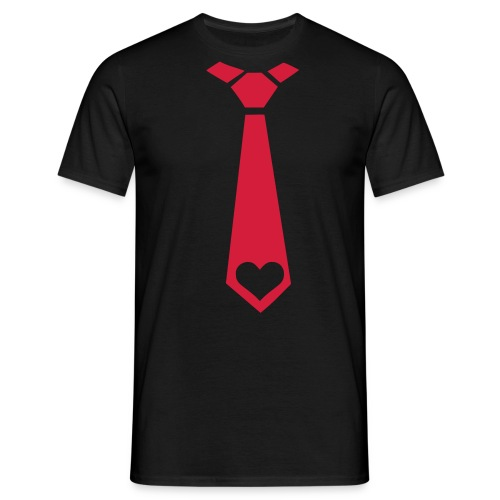 fake tie :) - Men's T-Shirt