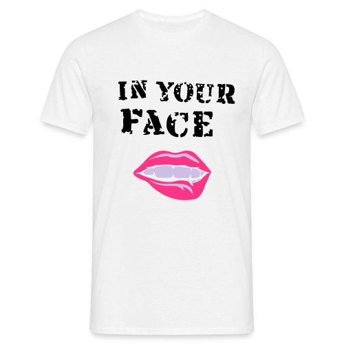 IN YOUR FACE - Camiseta hombre