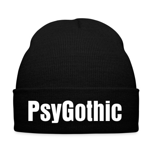 PsyGothic black cap - Winter Hat