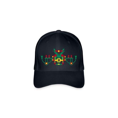 pet symmetrisch figuur - Flexfit baseballcap
