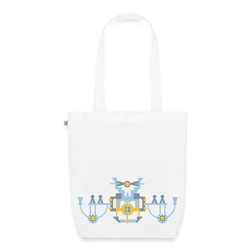 Tas symmetrisch figuur - Bio stoffen tas