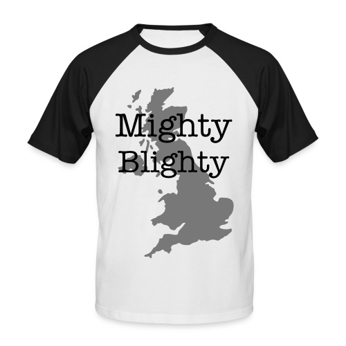 Mighty Blighty - Men's Baseball T-Shirt