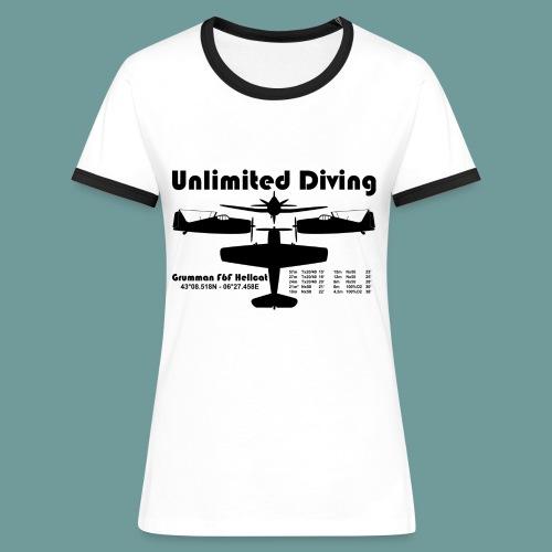 T-shirt W hellcat 01 - T-shirt contrasté Femme