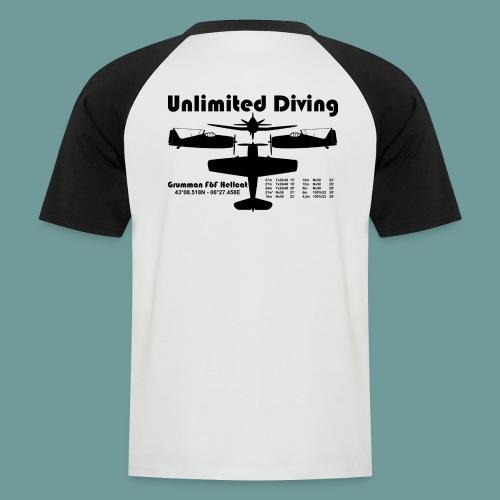 TS Hellcat 01 - T-shirt baseball manches courtes Homme
