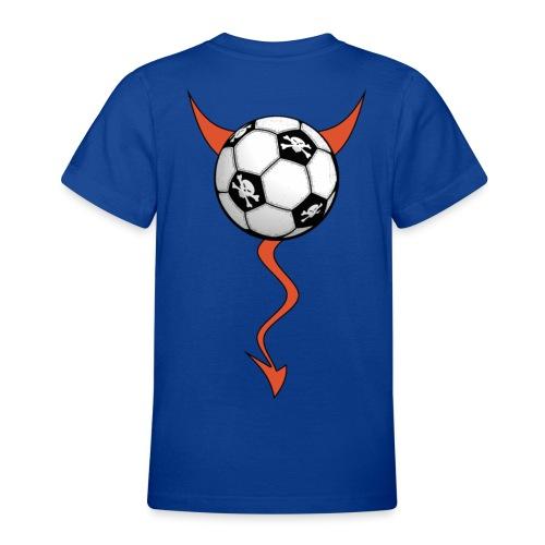 t-shirt football devil - Teenage T-Shirt