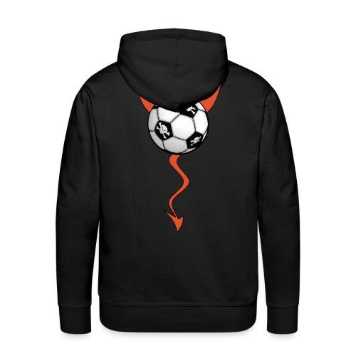 sweatshirt football devil - Men's Premium Hoodie