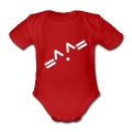 Red kawaii Baby Bodysuits