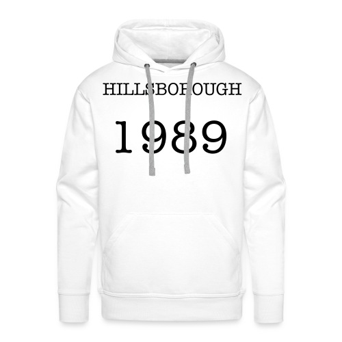 HILLSBOROUGH 89 - Men's Premium Hoodie