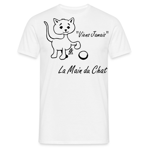 Main du Chat Bebinou Edition - T-shirt Homme