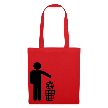 Red Soccer - against Bags
