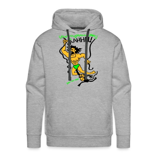 sweat appel de la jungle - Sweat-shirt à capuche Premium pour hommes