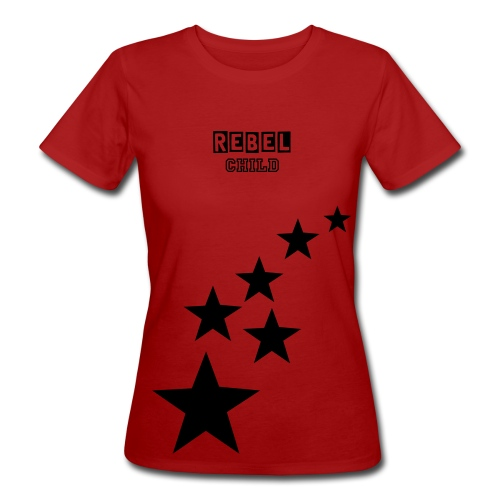 Womens Shirt - Rebel Child - Women's Organic T-Shirt
