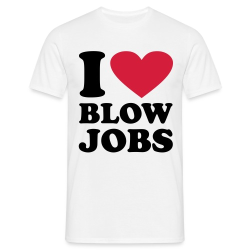 Blow Job - Männer T-Shirt