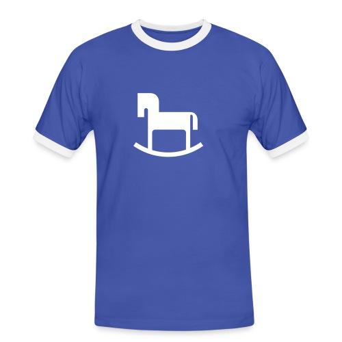 Reiterlein - Männer Kontrast-T-Shirt