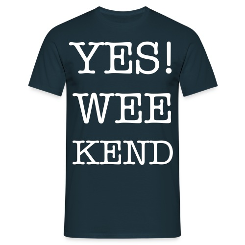 YES Week End - Mannen T-shirt