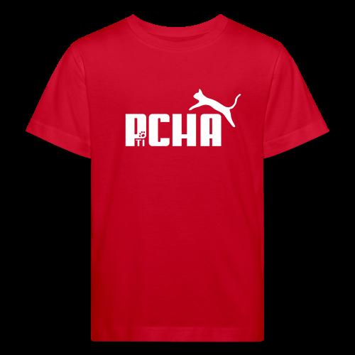 Pticha Enfant Bio Rouge - T-shirt bio Enfant