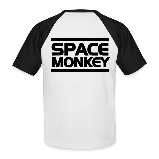 Two-Tone-Tee Space Monkey