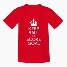 Red Keep Ball Kids' Shirts