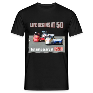 Life begins at 50 (R9) - Men's T-Shirt