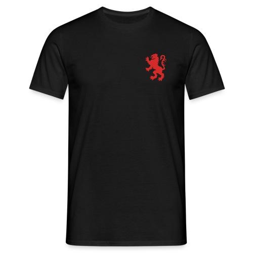 Scottish Lion Rampant Royal Black T-shirt - Men's T-Shirt
