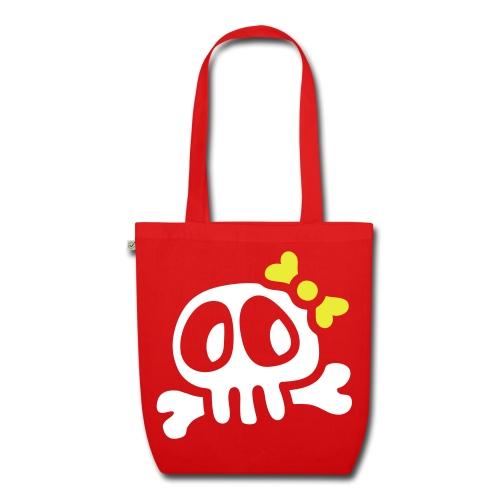 lady skull - EarthPositive Tote Bag