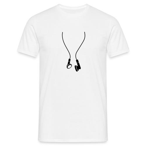 Auriculares varios colores [chico] - Camiseta hombre