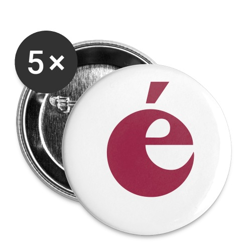 énerverend fan-button. - Buttons klein 25 mm
